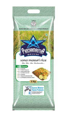 Panchamrutha Deluxe Sona Masuri Rice - 5 Kg