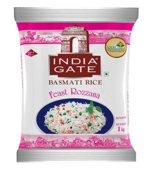 INDIA GATE Basmati Rice Feast Rozzana - 1 Kg