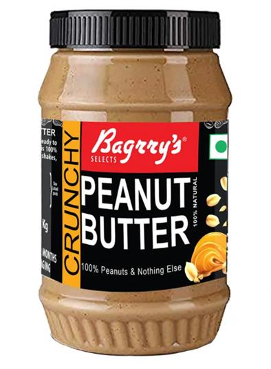 Bagrry's Crunchy Peanut Butter - 1 Kg