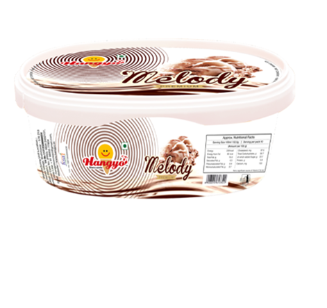 Hangyo Melody Ice Cream  1000 ml Tub