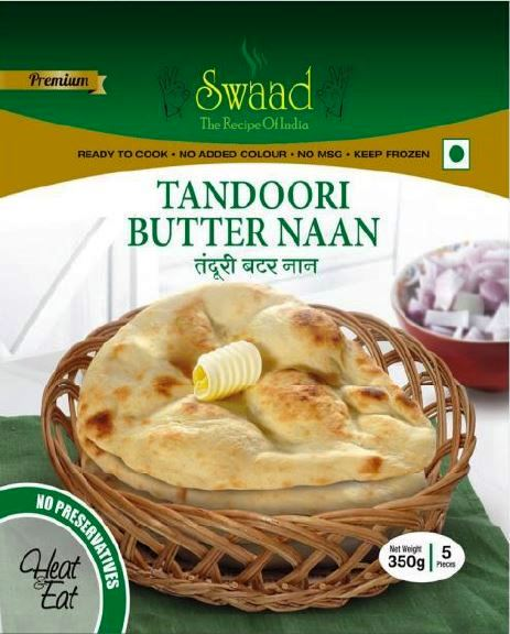 Swaad Tandoori Butter Naan 350g