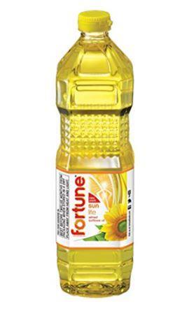 Fortune Sun Lite Refined Sunflower Oil - 1 Litre Bottle