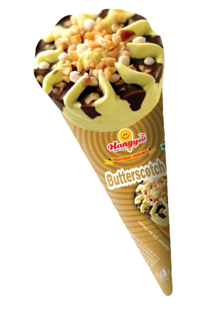 Hangyo Butterscoth Ice Cream Cone 120 ml