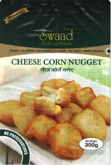 Swaad Cheese Corn Nugget 300g
