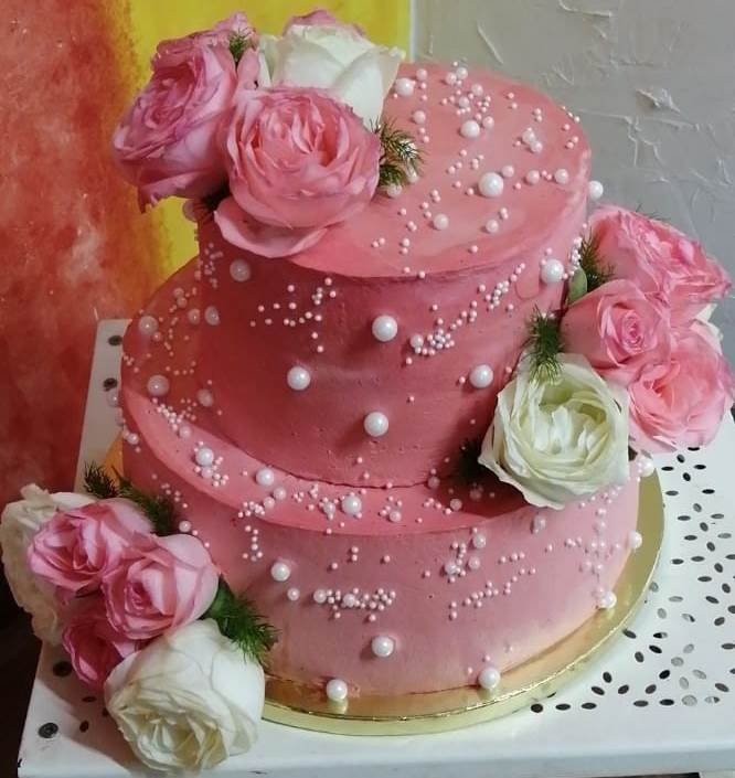 Vanilla Special Occasions Cake