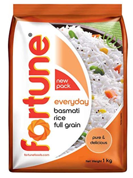 Fortune Everyday Basmati Rice (Full Grain) - 1 Kg