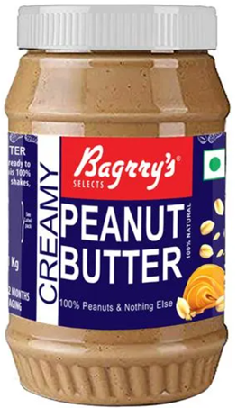 Bagrry's Creamy Peanut Butter - 1 Kg