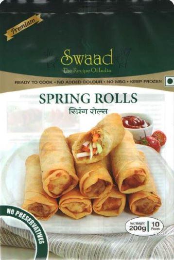 Swaad Spring Rolls 200 g