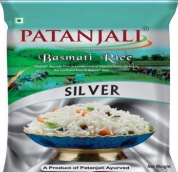 Patanjali Basmati Rice - Silver 1 Kg