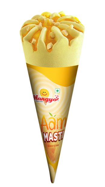 Hangyo Aam Masti Ice Cream Cone 80 ml