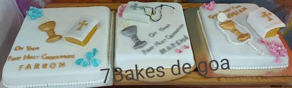 Communion Cakes - 3.5 Kgs