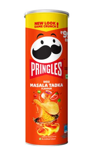 Pringles Desi Masala Tadka - 107 g