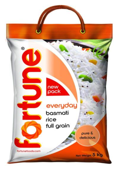 Fortune Everyday Basmati Rice (Full Grain) - 5 Kg