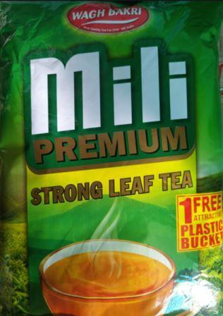 Wagh Bakri Premium Strong Leaf Tea - 1 kg