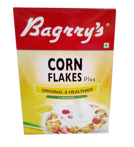 Bagrry's Corn Flakes Plus - Original & Healthier - 250 g