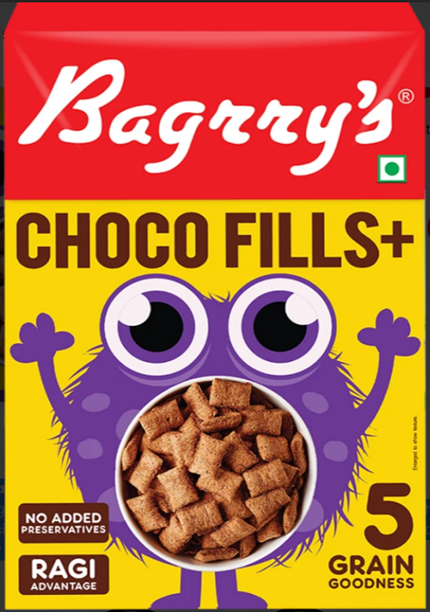 Bagrry's Choco Fills + (250 g)