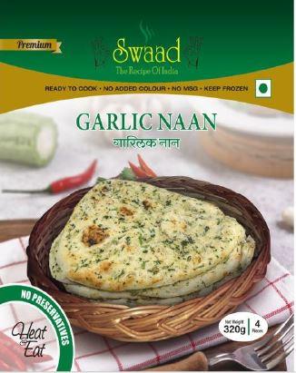 Swaad Garlic Naan 320g
