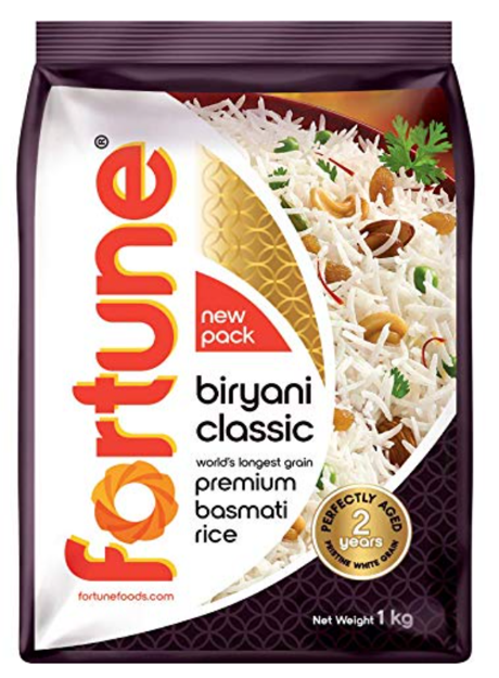 Fortune Biryani Classic Premium Basmati Rice - 1Kg